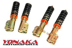 Yonaka Spec 1 Ford Probe Gt 1993 1997 93 97 Coilovers Shocks Springs Suspension