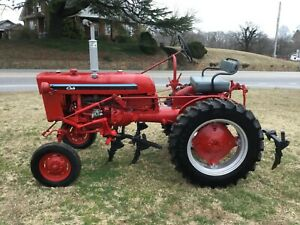 Very Nice Restored Farmall Cub Tractor