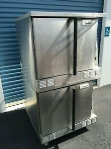 Garland 2013 Natural Gas Convection Ovens With New Gas Connectors