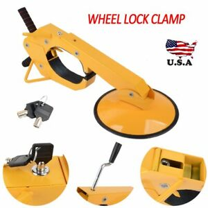 Wheel Tire Boot Lock Clamp Claw For Car Rv Boat Truck Trailer Anti Theft Us