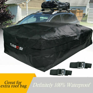 Xl Waterproof Roof Top Cargo Carrier Bag For Luggage Travel Car Storage Bag