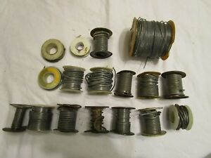 Vintage Lot Of Electrical And Plumbing Solder Over 11 Pounds Lbs Mixed Lot