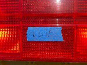 Oem Bmw E30 Early Right Passenger Tail Light Housing 84 87 318i 325e 325i 318is