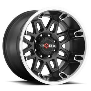 4 20x12 Black Worx Conquest 811u 8x6 5 44 Nitto Terra Grappler G2 305x50r20