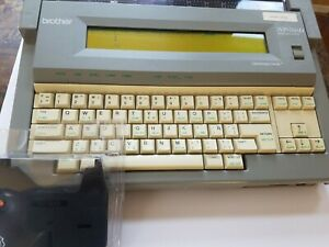 Brother Wp 760d Electronic Typewriter