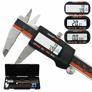 Digital Caliper 6 Inch 150mm High Precision Stainless Steel Lcd Screen Display