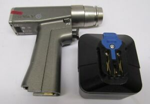 Stryker 6203 System 6 Rotary Drill Handpiece W Battery