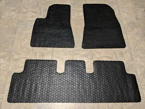 Toughpro Custom Fit Floor Mats Rubber Mats For 2017 2019 Tesla Model 3 Lr Awd Mr