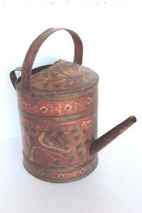 Old Vintage Antique Rare Watering Can Home Decor Collectible Pt 78