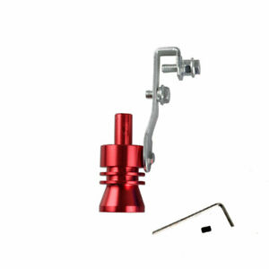 Xl Size Red Turbo Sound Exhaust Blow Off Valve Simulator Whistler Universal