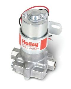 Holley 12 801 1 110 Ghp Red Electric Fuel Pump Max Pressure 7 Psi