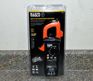 Klein Tools Digital Clamp Meter Ac Auto ranging 600a True Rms Tough Cl600 New