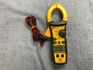 Heavily Used Ideal 61 775 1000a Ac dc Tightsight Clamp Meter