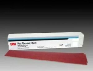 3m 01680 Red Abrasive Stikit Air File Sheet 40 Grit 25 Bx 3m1680 Continuous
