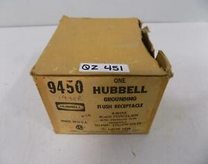Hubbell 50amp Grounding Flush Receptacle 9450 Nib