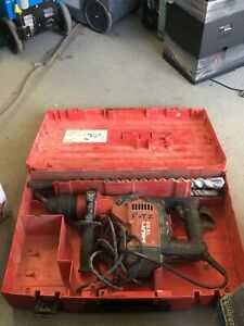 Hilti Te 55 Te55 Rotary Hammer Drill Demolition Chisel Chipping Sds Max