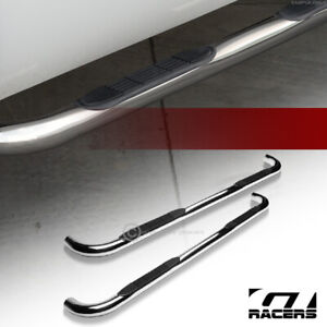 For 2002 2009 Dodge Ram Quad Cab 3 Chrome Side Step Nerf Bars Running Boards Hd