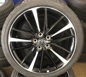 19 Toyota Camry Xse 2018 Oe Wheels Tires Set Of 4 19x8 Oem Wheels With Tires