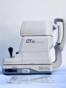 Topcon Ct 80 Non Contact Tonometer Excellent Condition With Warranty