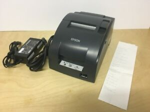 Epson Tm u220b M188b Ethernet Dot Matrix Receipt Pos Printer W Ac Adapter