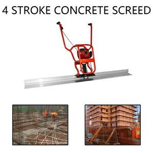 Gx35 950w Gas Concrete Wet Screed Power Screed Cement 6 56ft Board