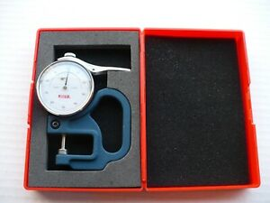 Spi 13 151 6 Dial Thickness Gage Range 0 To 050 In 0001 Graduations