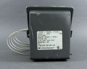 United Electric Temperature Switch F402 4bs