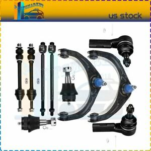 10 Set Upper Control Arm Lower Ball Joints Sway Bar For 2006 2008 Dodge Ram 1500
