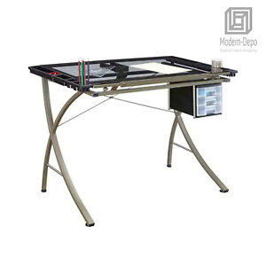Office Drafting Table Art Drawing Adjustable Craft Work Station