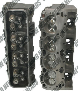 Brand New Chevy 350 5 7 Vortec Cylinder Heads Pair 906 062 Suburban 1996 2002
