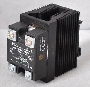 Crydom Solid state Relay Hd4890g With Heat Sink