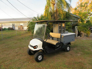 2016 Cushman Refresher 19th Hole Beverage Vending Type Golf Cart Gas Engine