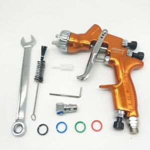 Devilbiss Hd 2 Spray Gun Gravity Feed Hvlp Touch up For All Auto Paint Topcoat