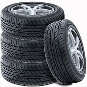 4 Falken Ohtsu Fp7000 205 55r16 91v All Season Traction High Performance Tires