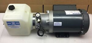 Monarch Hydraulics K12478 Dyna Pack Fluid Pump System 1 1 2 Hp New In Box