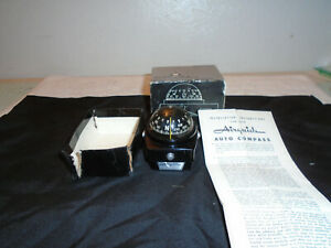 Vintage Original Airguide Nomad Model 79c Auto Compass Accessory Truck Boat