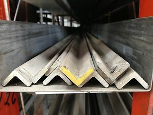 Alloy 304 Stainless Steel Angle 1 1 2 X 1 1 2 X 188 X 36