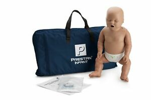 Prestan Dark Skin Infant Cpr aed Training Manikin With Monitor Pp im 100m ds