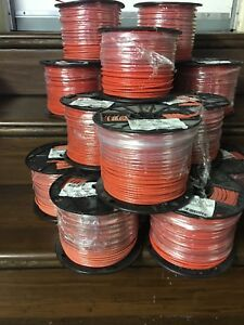 500 Ft Thhn Copper Stranded Wire 12 Awg 600 Volt orange