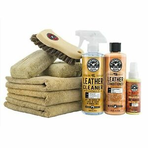 Chemical Guys Hol303 Leather Cleaner And Conditioner Care Kit 4 Fluid_ounces