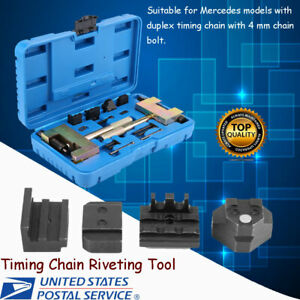 13pcs set Timing Chain Riveting Tools Fit For Mercedes Benz Chrysler Jeep