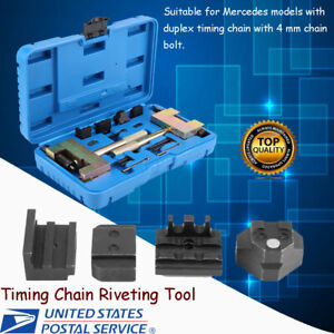 13pcs Set Timing Chain Riveting Tools Fit For Mercedes Benz Chrysler
