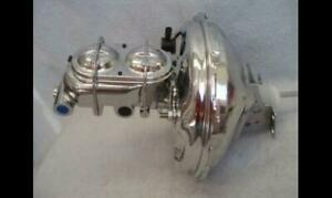 1964 1972 Chevy 11 Chrome Gm Brake Booster Bail Top Master Cylinder Chevelle
