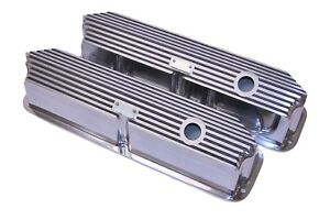 Brand New Ford Fe All Fins Polished Valve Covers