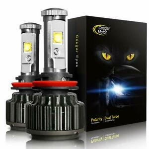 Cougarmotor Led Headlight Bulbs All in one Conversion Kit 9006 cool White Cree
