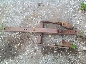 Used Drawbar Assembly From 1947 Allis Chalmers Wd Tractor