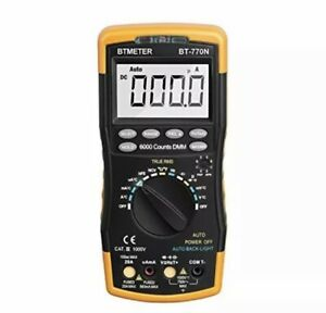 Btmeter Multimeter Bt 770n Auto manual Range Digital Avometer Universal Meter