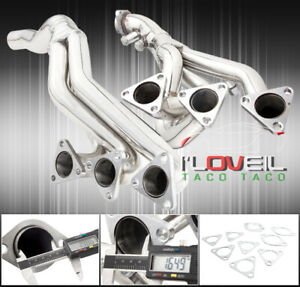 01 06 3series M3 E46 I6 Dohc 6 2 Steel Performance Race Header Exhaust Manifold