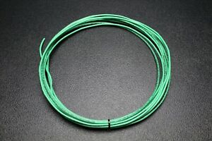 12 Gauge Thhn Wire Stranded Green Ground 100 Ft Thwn 600v 90c Machine Cable Awg