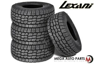4 X Lexani Terrain Beast At Xl 275 60r20 119h Xl All Terrain All Season Tires